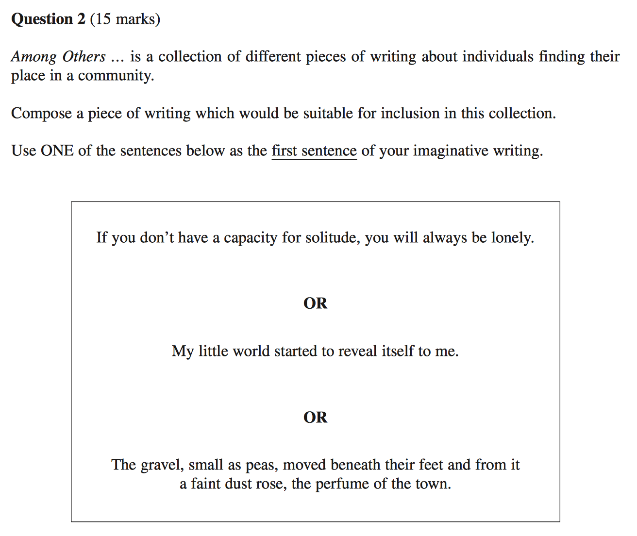 adapt your hsc creative writing to any stimulus screen shot 2015 09 02 at 9 27 47 pm