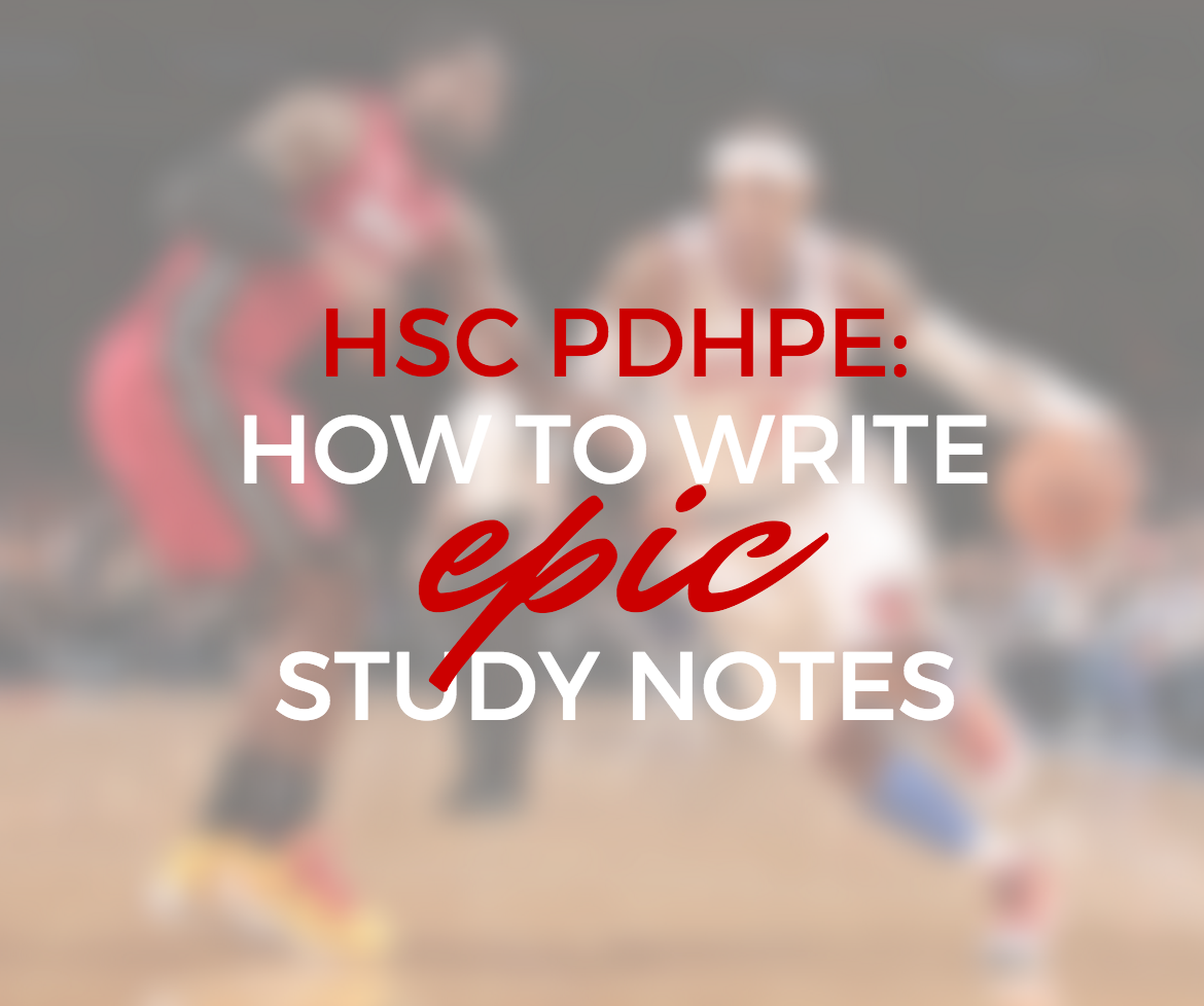 hsc pdhpe study notes Start studying pdhpe core 1 hsc 2012 learn vocabulary, terms, and more with flashcards, games, and other study tools.