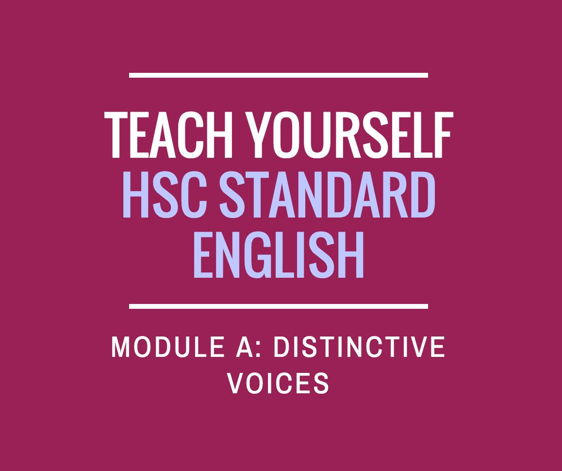Distinctive voices practice essay questions