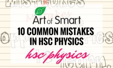 10 Common Mistake in HSC Physics