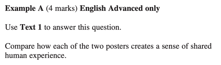 how to study for the new HSC english syllabus